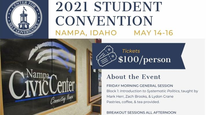 Conference in Nampa This Weekend Focuses on Re-establishing Balance in America's Political Arena