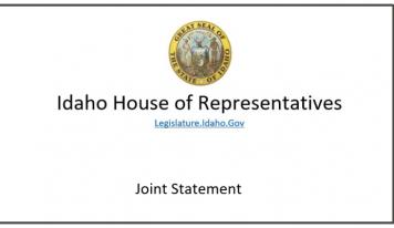 "Idaho Legislators Issue Joint Statement on Employer-Mandated ""Vaccines"" and Reconvening the Legislature"