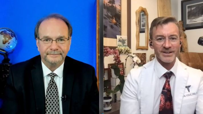 Dr. Ryan Cole Talks Truth on The Voice of Conservative Values Show